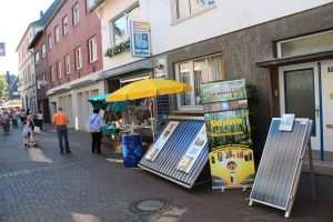 Kartoffelmarkt Stand Ladenlokal